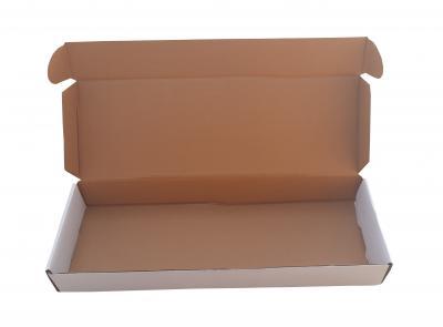 Corrugated Box 24.5* 6.25 * 2.5 Inch/62.23 *15.87 *6.35 cm 3 ply
